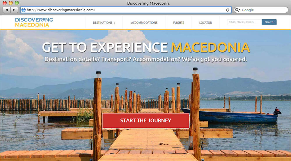 Discovering Macedonia